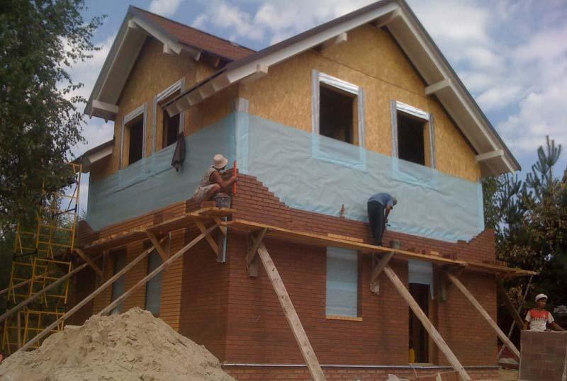 Фото отделки домов из сип панелей