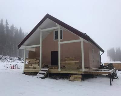 Строительство дома из СИП панелей в д. Агалатово