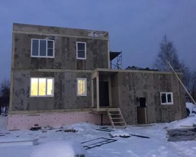 Строительство дома из СИП панелей в г. Всеволожск