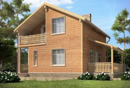 Проект каркасного дома РЕАЛ
