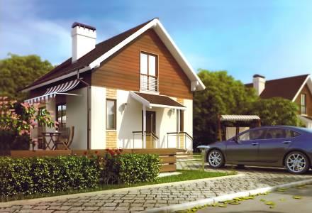 Проект каркасного дома КЛИО