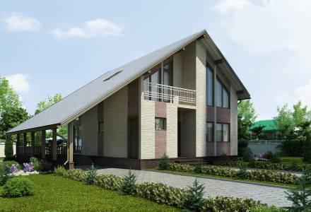 Проект каркасного дома АЛЬФА