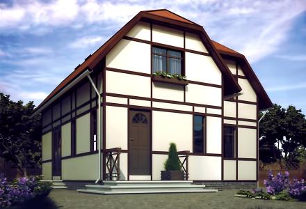 Проект каркасного дома РАПСОДИЯ