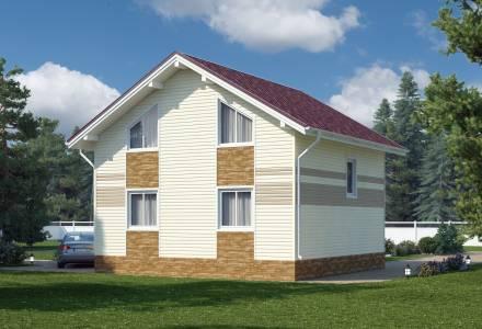 Проект  дома НИКОЛЬ