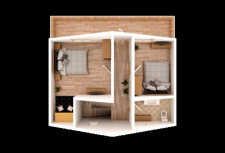 Проект каркасного дома ЗАЛИВ