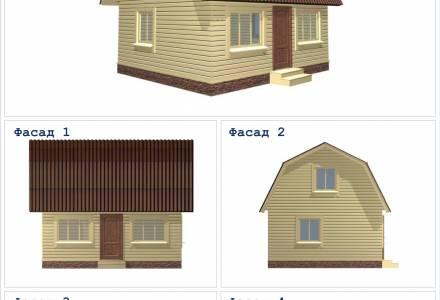 Дачный дом 6х5