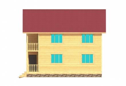 Проект каркасного дома 11 х 9.5