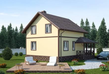 Проект каркасного дома ВОЛХОВ