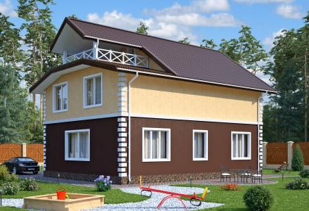 Проект каркасного дома ВИЛЮЧИНСК