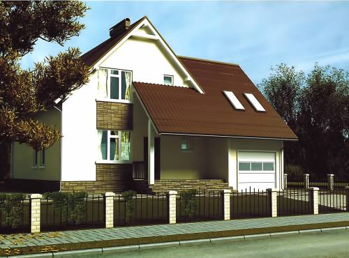 Проект СИП дома РИВЕР