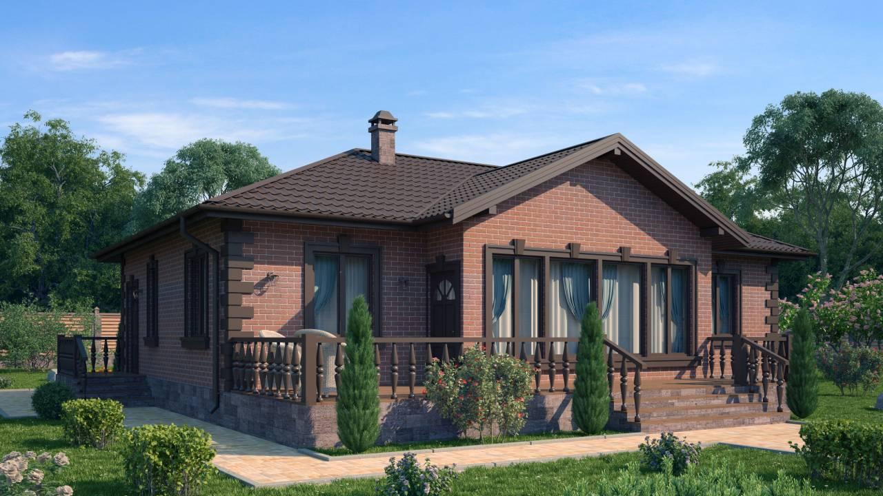 Проект каркасного дома БРАТСК