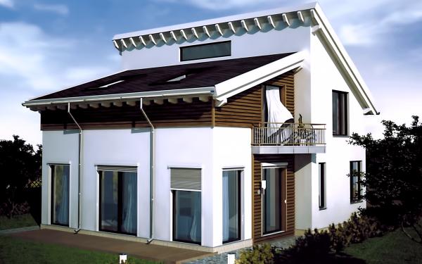 Проект дома из СИП панелей БЕРЛИН