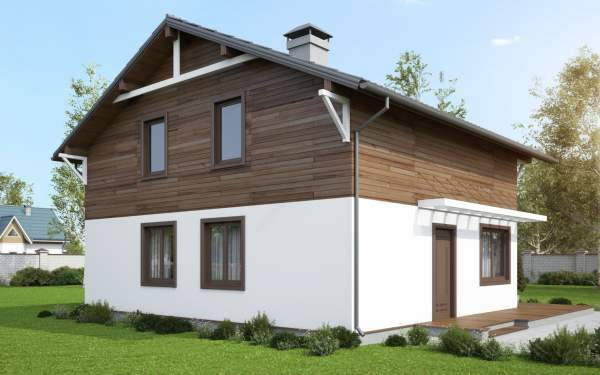 Проект дома из СИП панелей ВЕНГЕ