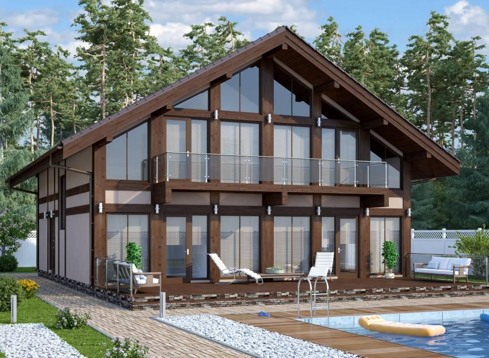 Проект каркасного дома РИВЬЕРА