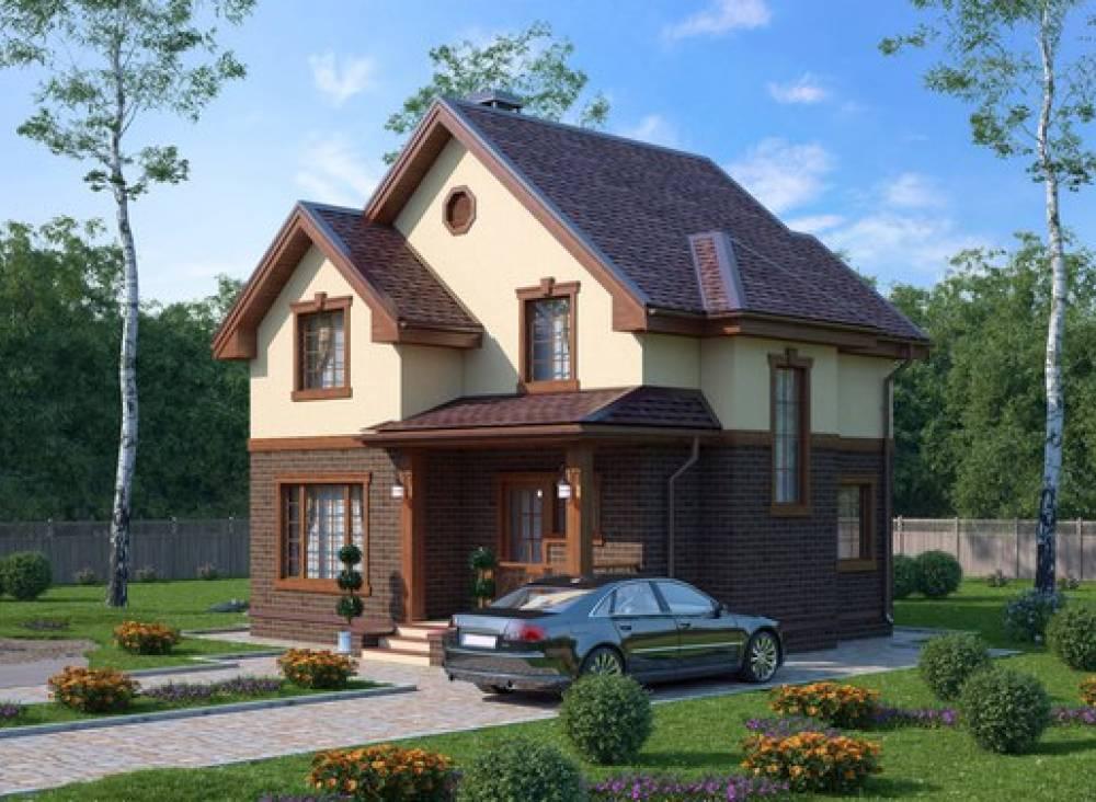 Проект каркасного дома ДЕМО