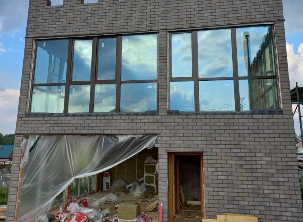 Строительство дома из СИП панелей в д. Ольшаники