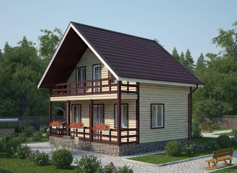 Проект дома из СИП панелей ЗАЛИВ