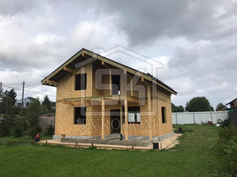 Строительство дома из СИП панелей в д.Донцо