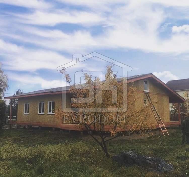 Строительство дома из СИП панелей в п. Жихарево Ленинградской области