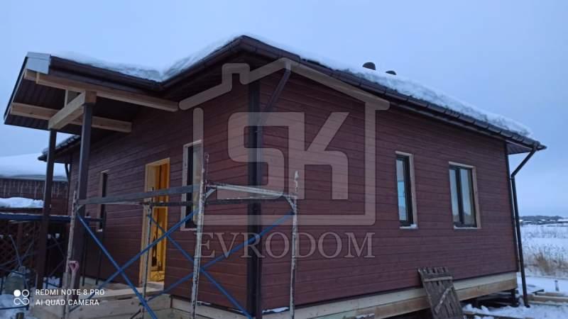 Строительство дома из СИП панелей в Яхт клуб