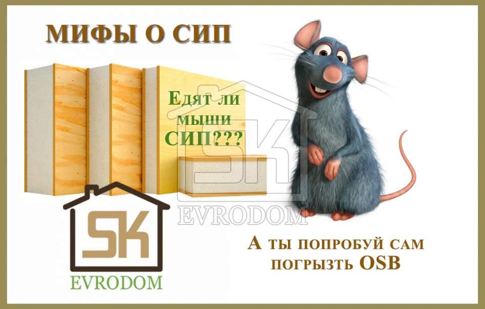 «А мыши не съедят СИП-панель?»