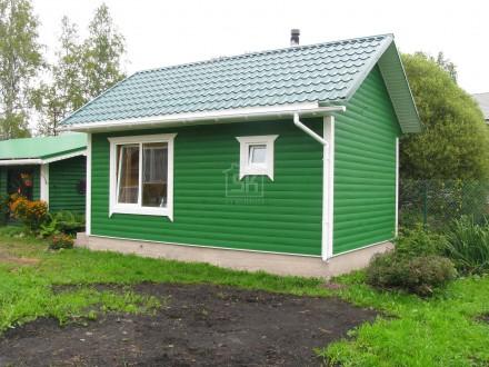 Строительство бани из СИП панелей в Гатчинском р-не Лен.обл.