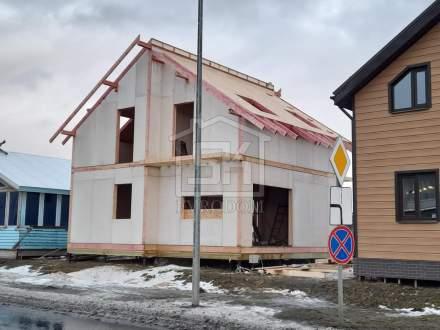 Строительство ДЕМО дома из СИП панелей