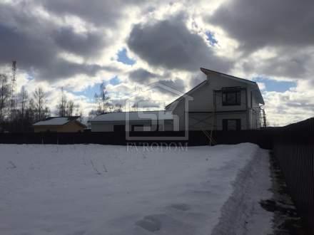 Строительство дома и бани из СИП панелей по индивидуальному проекту в п. Вуокса Ленинградской области.