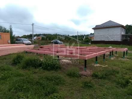 Строительство дома из СИП панелей КП Кружева Московской области.