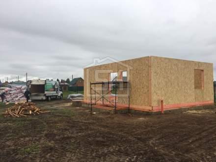 Строительство дома из СИП панелей по индивидуальному проекту в КП Старая Ладога