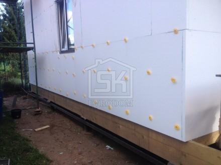 Подготовка фасада к внешней отделки