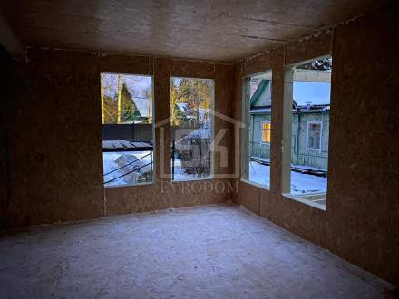 Строительство дома из СИП панелей по индивидуальному проекту в п. Песочное 1 Ленинградской области