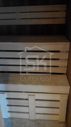 Внутренняя отделка дома из СИП панелей (сауна)