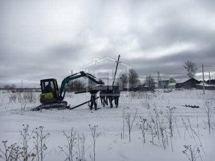 Строительство дома из СИП панелей по типовому проекту «Демо» в п. Красный Бор Ленинградской области.