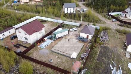 Строительство дома из СИП панелей по типовому проекту Мерлен в КП Фарпост