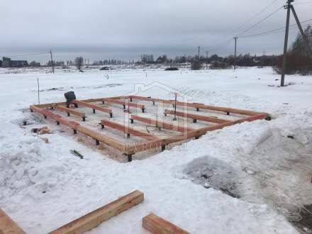 Строительство дома из СИП панелей по типовому проекту «Мерлен»