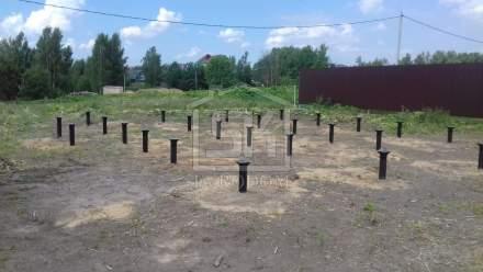 Строительство дома из СИП панелей в д. Аро Ленинградской обласьи