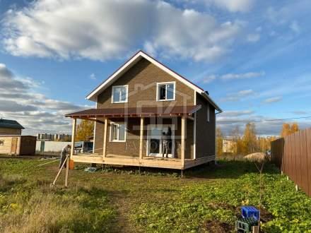 Строительство дома из СИП панелей в д. Аро Ленинградской области