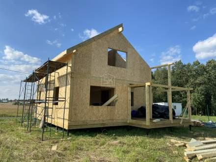 Строительство дома из СИП панелей в д. Хапо Ое