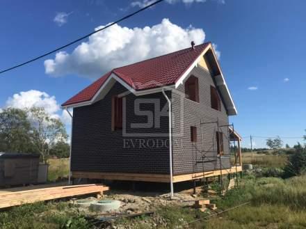 Строительство дома из СИП панелей в д. Хиттолово