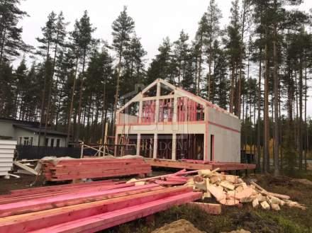 Строительство дома из СИП панелей в КП Акватория