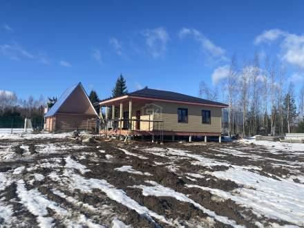 Строительство дома из СИП панелей в п. Мшинская