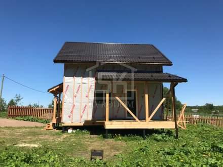 Строительство дома из СИП панелей в п. Токкарево Ленинградской области