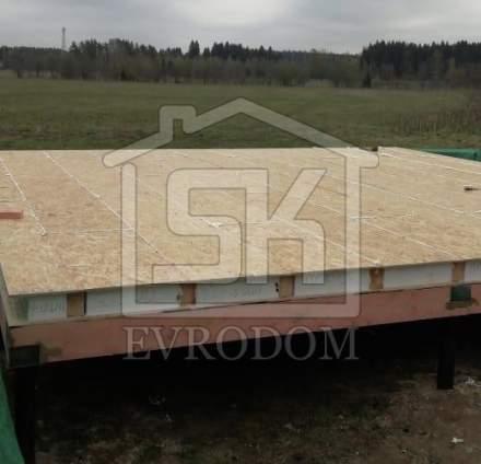 Строительство дома из СИП панелей в п. Токкарево