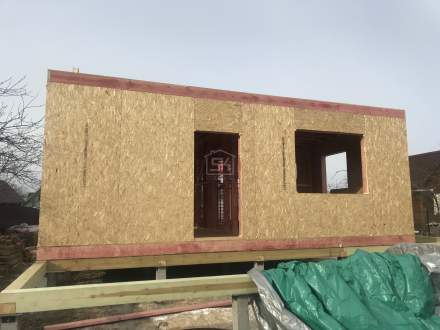 Строительство дома из СИП панелей в п.Дачное