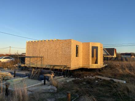 Строительство дома из СИП панелей в п.Тайцы