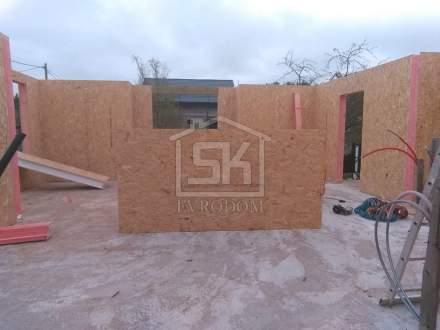 Строительство дома из СИП панелей в СНТ « Берёзовая роща» Ленинградской области