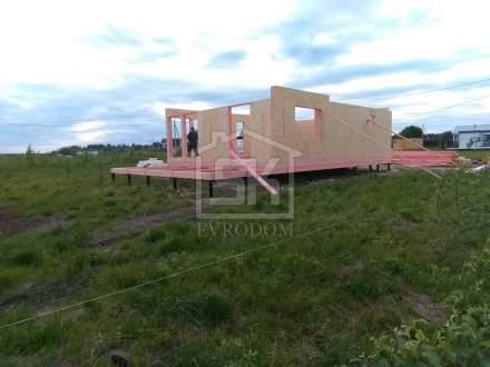 Строительство дома из СИП панелей в СНТ « Соловьевские дачи» Ленинградской области.
