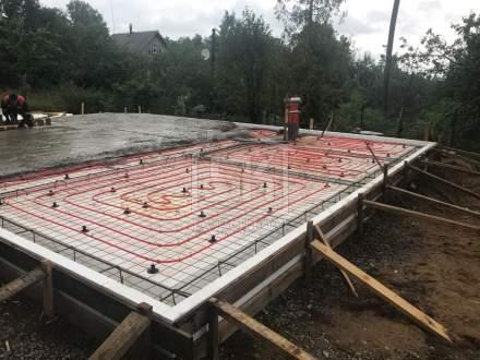 Строительство каркасного дома по индивидуальному проекту в п. Игора Ленинградской области.