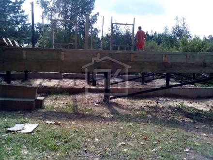 """Строительство каркасного дома по проекту """" Выборг"""" в п.Гаврилово Выборского р-на"""